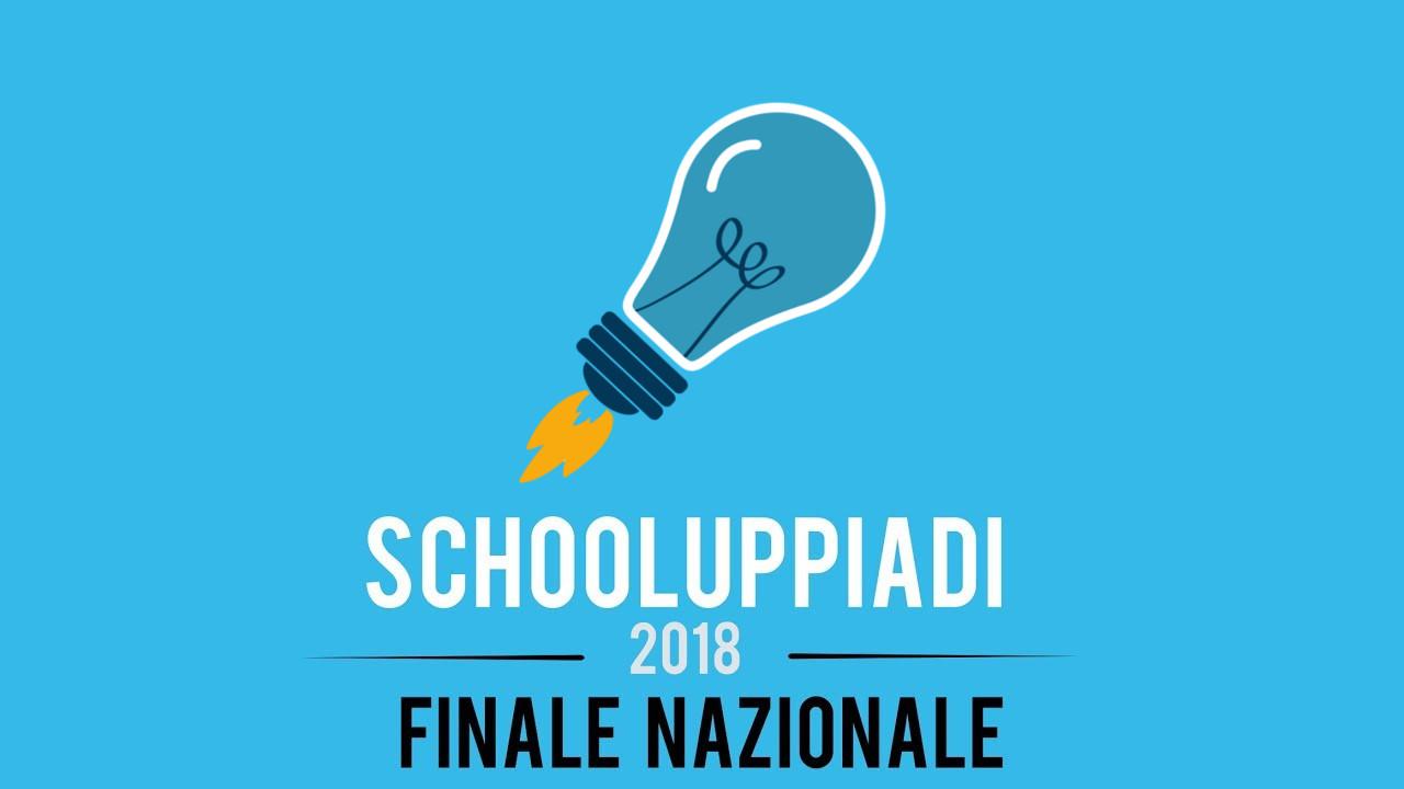 SchoolUppiadi 2018: Comunicato Stampa